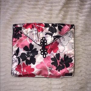 Cute clutch/ Sm bag floral print